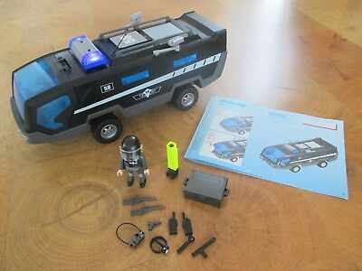 5564 playmobil sek truck polizei sondereinsatzkomando. Black Bedroom Furniture Sets. Home Design Ideas