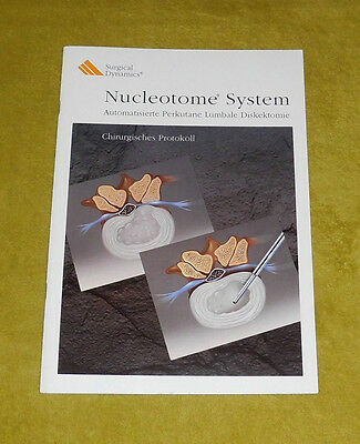 Surgical Dynamics - A Study About The Nucleotome System in German