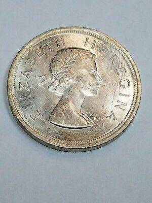 1953 South Africa 5 Shillings (AC43)