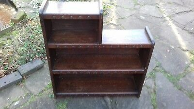 Early  Small Old Oak Bookcase in Excellent Original Condition