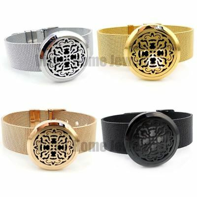 WOMEN'S JEWELLERY Aroma Health Bracelet Stainless Steel Essential Oil Diffuser