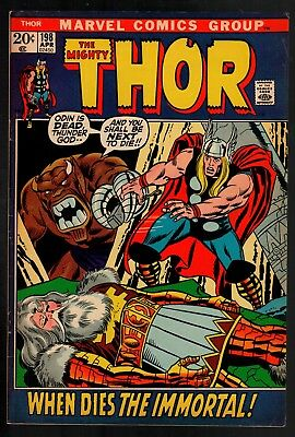 Thor #198 FN- 5.5 Marvel Silver Age 1972!!!