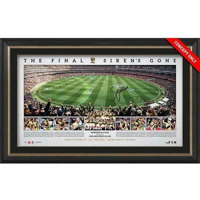 Richmond Signed Framed 2017 Afl Premiers Limited Edition Print Cotchin Martin