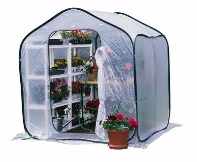 6 x 6 ft FlowerHouse PlantHouse Pop-Up Walk-in Greenhouse With UV Protection New