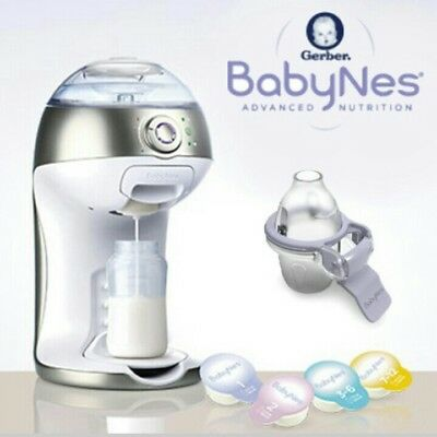 Gerber BabyNes Baby Formula Dispenser New - Keurig for Babies!