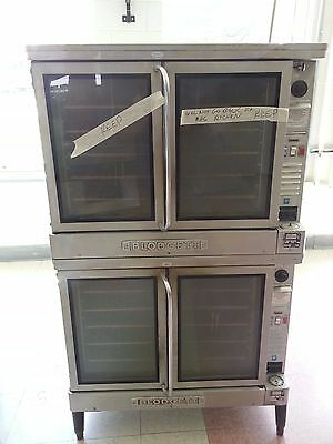 Blodgett EF-111 x2 stacked ovens