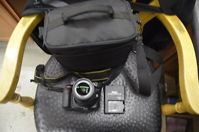 Nikon D3300 24.2MP Digital SLR Camera AF-P DX VR II 18-55mm Lens shutter 2827