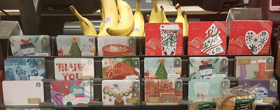 Starbucks Limited Edition Canadian Holiday Gift Cards