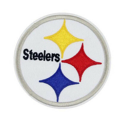 Pittsburgh Steelers Patch Aufnäher 8 x 8 cm NFL