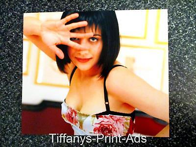 BRITTANY MURPHY  Gorgeous 13 x 10 Inch  Page  CLIPPINGS  Photo