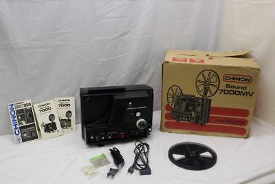 Vintage Chinon Sound 7000MV 8mm Projector