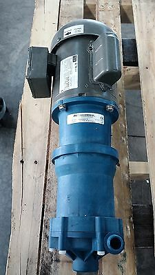 Finish Thompson Vkc6 Centrifugal Vertical Mag-Drive Pump Weg Motor 1 Hp 115/230V