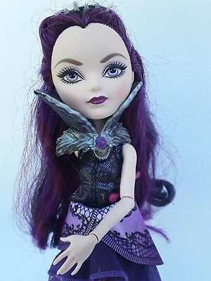 Ever after high doll Raven Queen very good used cond