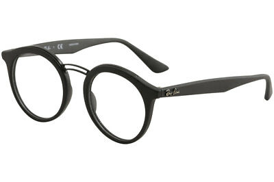 83f71791ffb Ray Ban Eyeglasses RX7110 RX 7110 RayBan 5196 Matte Black Optical Frame 46mm