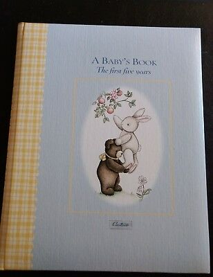 """A Baby's Book The first five years by Carter's, ISBN: 0-7667-4473-6,  9"""" x 11"""""""