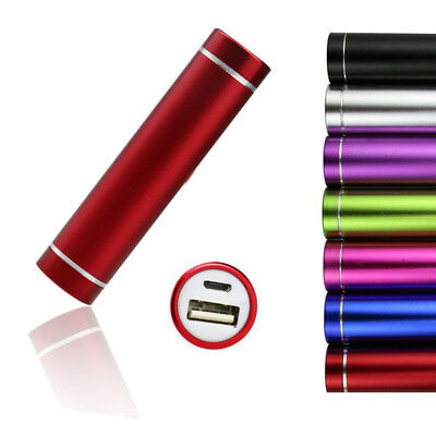 Portable Power Bank 2600mAh External Mobile USB Battery Charger for Cellphone