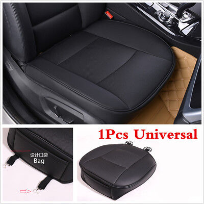 1x Universal Deluxe PU Leather Car Cover Seat Protector Front Seat Cover Cushion