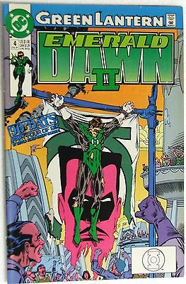 "DC Comics Green Lantern Emerald Dawn II #4 ""The Will To Power"""