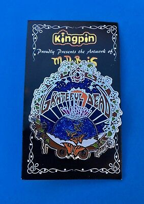 RARE LICENSED LIMITED EDITION GRATEFUL DEAD Pin by Mike Dubois. Original package