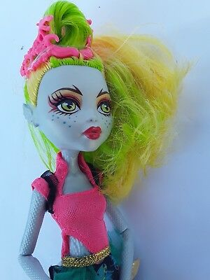 Monster high doll Lagoonafire Excellent used condtion
