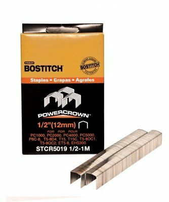 BOSTITCH STCR50191/2-1M 1/2-Inch by 7/16-Inch Heavy-Duty PowerCrown Staple 10...