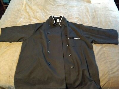 Set of two!!! Brand New Chef Coat Black - Chef Trends - XL
