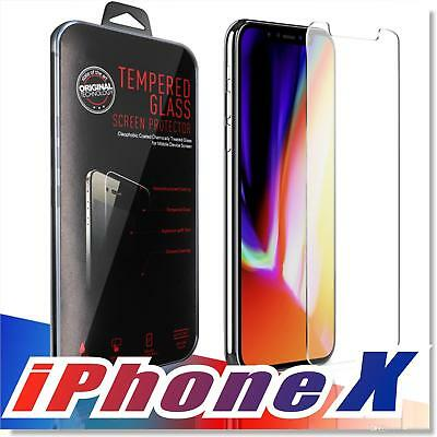 (5x )Screen Protector Film Tempered Glass for Iphone X