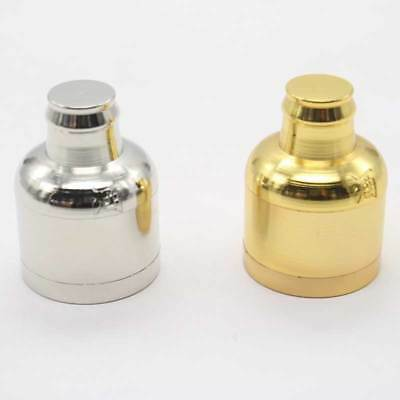 3 Layers Silver Metal Alloy Tobacco Herb Spice Grinder Smoke Crusher Hand Muller