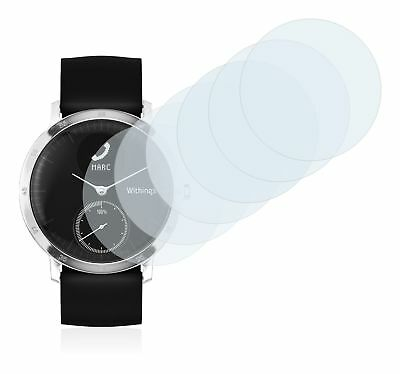 Withings Steel HR (40 mm) Watch, 6x Transparent ULTRA Clear Screen Protector