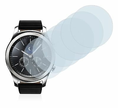 Samsung Gear S3 Classic Smart Watch, 6x Transparent ULTRA Clear Screen Protector