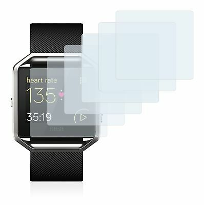 Fitbit Blaze Smart Watch, 6x Transparent ULTRA Clear Screen Protector