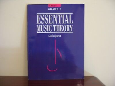 Essential Music Theory by Gordon Spearritt Grade 1 -  NEVER USED