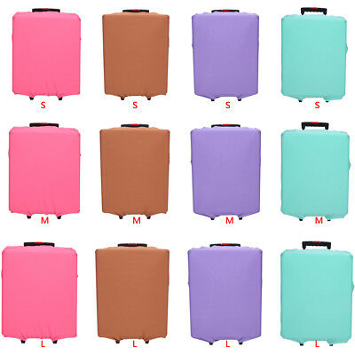 New Luggage Protective Cover Dust-proof Travel Elastic Suitcase Protector Case H