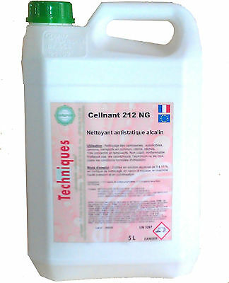 Cellnant 212 Shampoing auto antistatique bidon de 5 l