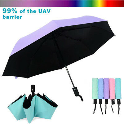 Wind Resistant Folding Automatic Umbrella Windproof Travel Rain Sun Umbrellas