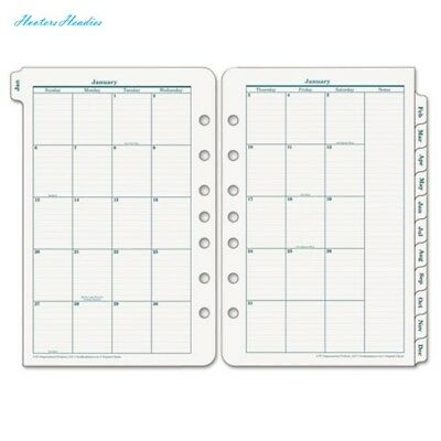 FRANKLIN COVEY FranklinCovey Original Dated Monthly Planner Refill, January-Dece