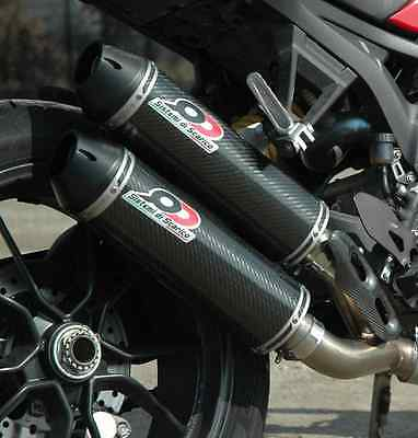 Silencieux Qd Exhaust Carbone Ducati Monster 1100 Evo