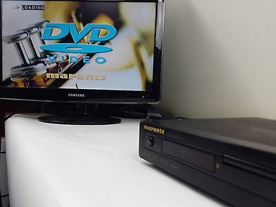 Marantz DV3001e DVD - CD Player - tested, Fully functional. See pictures!