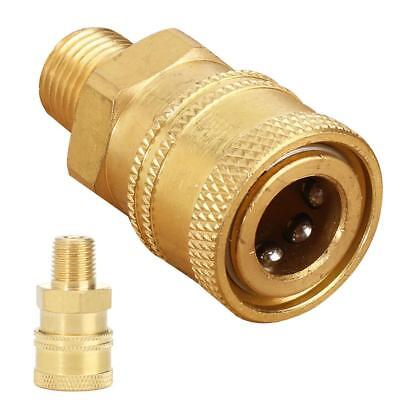 12mm Quick Connect Adapter to 1/4'' Male Connector for Pressure Washer