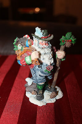 Collectible 1994 Roman Galleria Lucchese German Santa with Drum Symbol!