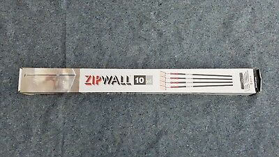 ZipWall ZP4 Construction Dust Barrier System For Plastic* Barrier