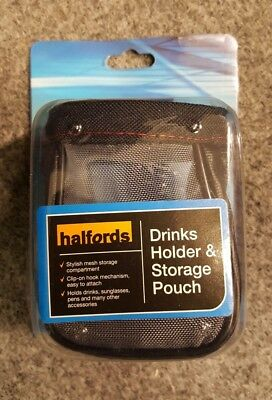 Halfords Drinks Holder & Storage Pouch
