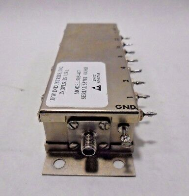 JFW Industries Inc. 50P-467 Solid State Programmable Attenuator (2.2GHz)