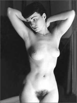 Bettie Page nude pinup 8x10 print 020