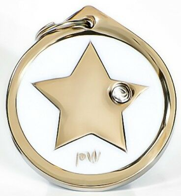 Best Quality Personalised STAR Pet Dog Cat ID Collar Tags Discs FREE  DELIVERY