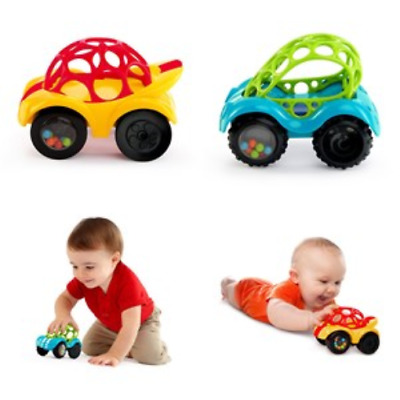1Pc Rattle Roll Car Toy Teether Infant Toddler Gifts Toys for Baby Boy Girl NEW