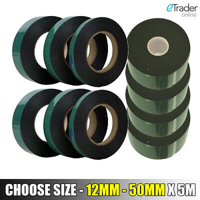 Strong Double Sided Self Adhesive Foam Car Trim Body Tape 12mm 19mm 25mm 50mm