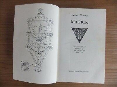 Magick by Aleister Crowley hardback used good condition
