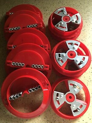 Oak, Eagle, A&A Candy Wheels and Brush Housing Lot of 5