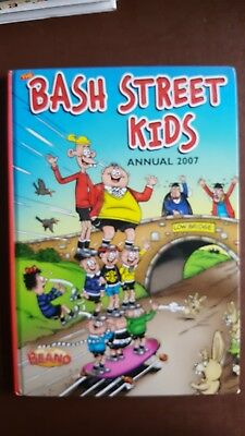 Bash Street kids Annual 2007. Excellent condition. not price clipped (£6.99)